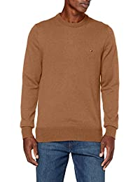 Tommy Hilfiger Pima Cotton Cashmere Crew Neck Sweater Homme