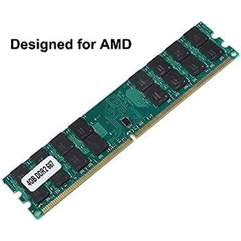Diyeeni RAM DDR2, Módulo de memoria DDR2 RAM de 4 GB, RAM de gran capacidad de 240 pines Diseñado para AMD, Plug and Play No se necesita controlador ...