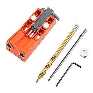 TIREOW Plastik Band Magnetisch Einstellbare Schräglochbohrer Locator Holzbearbeitung Reparatur Holz Gelenke Werkzeug