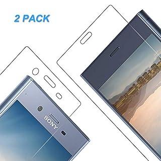 Vkaiy Schutzfolie für Sony Xperia XZ1, [2 Stück] Anti-Kratzen Panzerglasfolie, Schutzglas Glasfolie, Panzerglas Displayschutzfolie für Sony Xperia XZ1