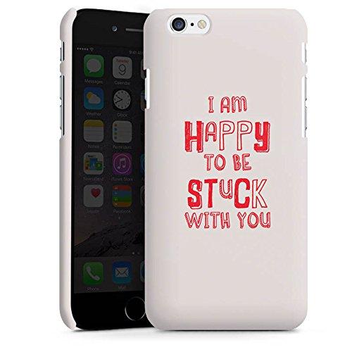 Apple iPhone X Silikon Hülle Case Schutzhülle Sprüche Liebe Freundschaft Premium Case matt