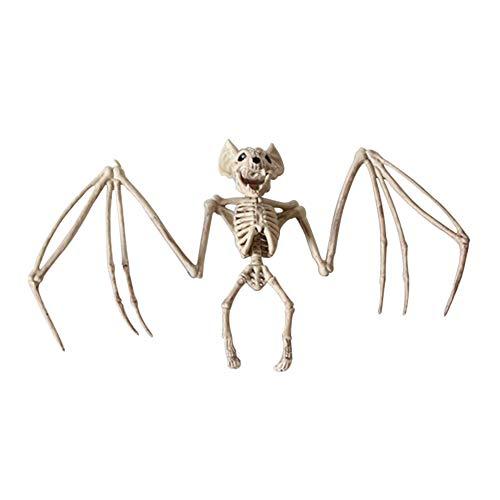 Ambility Tierskelett-Modell Bat/Frog/Lizard Knochen Halloween Party Dekoration - Knochen Lizard