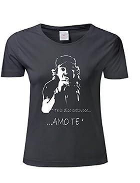 Art T-shirt, Maglietta Vasco Rossi AmoTe, Donna
