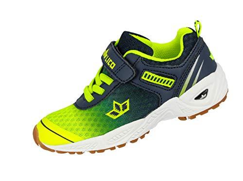 7d6856a9bafcfe Lico Jungen Barney VS Multisport Indoor Schuhe Blau Marine Lemon