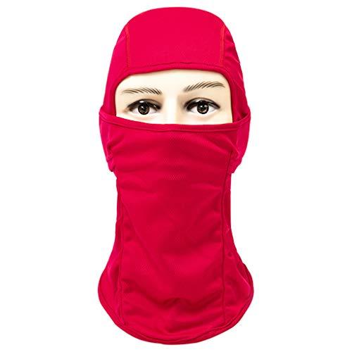 LCLrute Multifunktionstuch Gesichtsmaske,Atmungsaktiv Staubdichtes Gesichtsmaske Fahrradhelm Balaclava CS Ninja Hood Waschbar, Wasserdicht, Atmungsaktiv Ninja-mesh