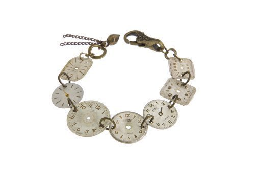 steampunk-vintage-recycled-watch-face-bracelet-unusual-gift-idea-wfb-1