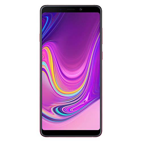 Samsung Galaxy A9 (2018) Smartphone, Rosa (Bubblegum Pink), Display 6.3&quot 128 GB Espandibili, [Versione Italiana]