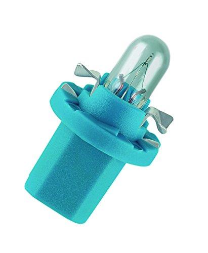 Preisvergleich Produktbild OSRAM ORIGINAL 12V 1,2W Halogenlampe mit Kunststoffsockel, BX8.5d, Anwendung als Armaturenbrett- und Instrumentenbeleuchtung, 2721MFX, Faltschachtel (10 Stück)