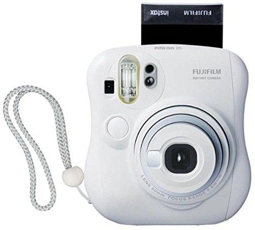 Fujifilm Instax Mini 25 - Cámara analógica instantánea, Blanco