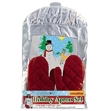 Sassafras Enterprises 22102 Holiday Apron Set by Sassafras -