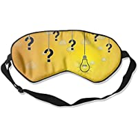 Eye Mask Eyeshade Bulbs Question Mark Sleeping Mask Blindfold Eyepatch Adjustable Head Strap preisvergleich bei billige-tabletten.eu