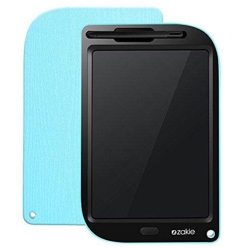 Zakie LCD Tablet, 10 Zoll LCD-Schreibtafel Elektronik Zeichenbrett mit Lock-Taste und Schutzhülle, für Kinder und Erwachsene, zu Hause, in der Schule, im Büro (Lcd 10-taste)