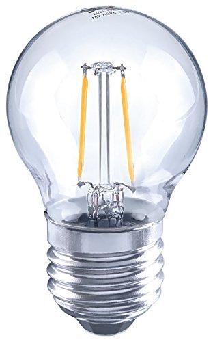 Arteko 10101800 A++ LED-Leuchtmittel Glas, 2 W, E27, klar