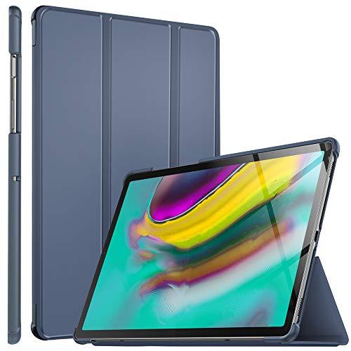 ELTD Hülle für Samsung Galaxy TAB S5E,Smart mit Ständer und Eingebautem Magnet Hochwertiges PU Leder Schutzhülle für Samsung Galaxy TAB S5E T720/T725 10.5 Zoll Tablet PC [Stone]