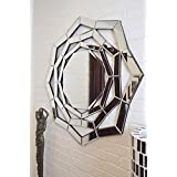 Venetian Image Modern Designer Wall Mirror For Home Décor By Venetian Image With Free Wooden Bangle Stand