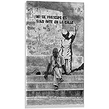 """Imagen en vidrio: Andreas Bauer """"Work of Art - Regla, Havanna."""", mural de alta calidad, magnífica impresión de arte sobre auténtico vidrio, 40x60 cm"""