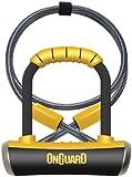 On-Guard Pitbull Mini DT-8008 Keyed Shackle Lock - Black, 9.0 x 14.0 cm