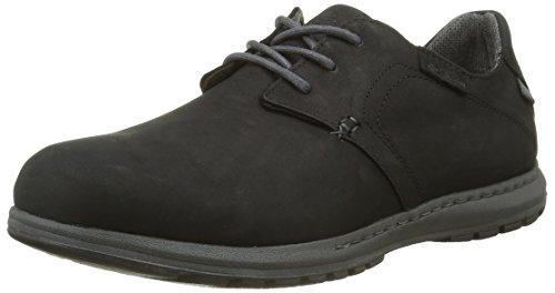 Columbia Herren Davenport Waterproof, Black/Dark Fog, 8, BM1696 (Omni-8-schuh)