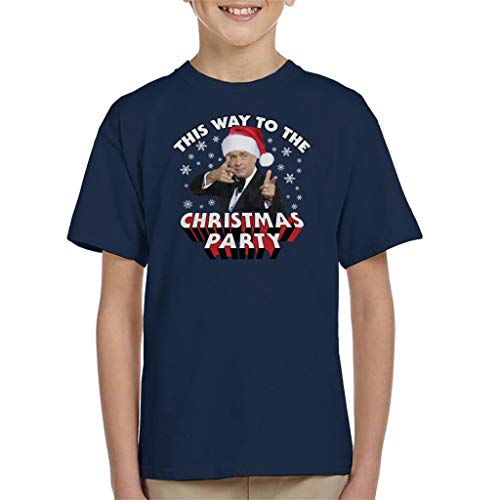 (Tom Hanks This Way to The Christmas Party Kid's T-Shirt)