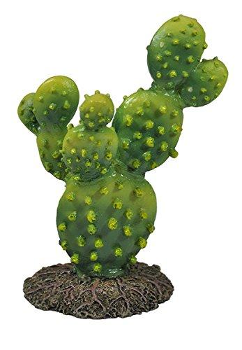 Happet Terrarium Deko Kaktus Serie, künstliche Kakteen für Terrariendekoration, Terrariumpflanze für Ihr Terra oder Aquarium als Dekoration (U043 - 13 cm)