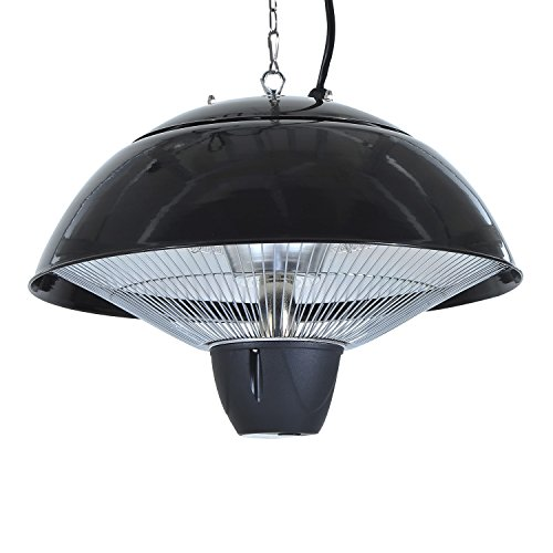 Outsunny 1500 w outdoor ceiling mounted aluminium halogen for Motorized outside air damper