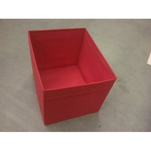 IKEA Drona - Caja de almacenaje (para estantería Expedit), color rojo