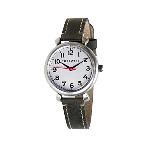 tokyobay-t035-gy-womens-stainless-steel-black-leather-band-white-dial-watch