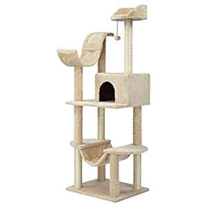 Finether Cat Furniture Cat Tree Cat Tower Cat Tree Tower