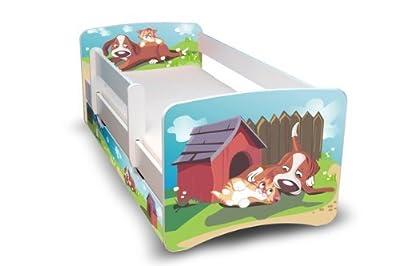 Cuna mejor para los niños / jóvenes cama 90 x 180 con cunas y dos cajones 33 diseño