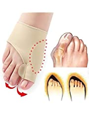 SKUDGEAR Pack of 2 Bunion Correction Toe Separator With Support (Pair)