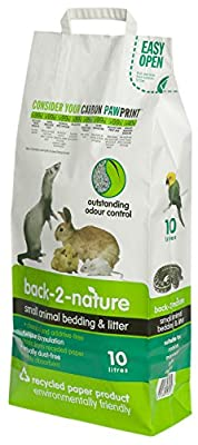 Back 2 Nature Small Animal Bedding produced by Fibrecycle UK - quick delivery from UK.