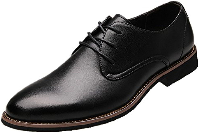 Herren Casual Lederschuhe Fruumlhling und Herbst Schuhe Business Schuhe mit Tianjin Rutschigen Sand Co