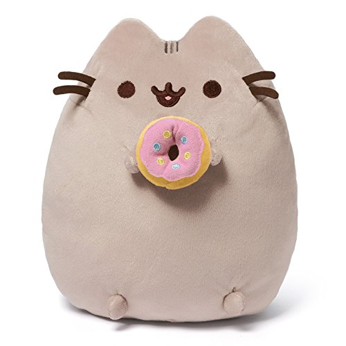 GUND Pusheen with Donut Plush Toy