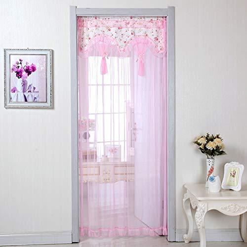DQZLF Anti-Moskito-Vorhänge Startseite Wohnzimmer Trennwand Vorhang Schlafzimmer Vorhänge Four Seasons Universal,B,90X200cm