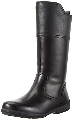 Geox Mädchen JR Crissy I Kurzschaft Stiefel, Schwarz (BLACKC9999), 35 (Stiefel Kinder Für Schwarze)