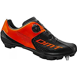Shoes DMT M3 MTB Orange Fluo Black Size 42