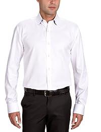 SELECTED HOMME Herren Hemd mit Manschetten Regular Fit 16029273 Two Henry Shirt