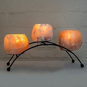HSD Himalayan Salt Direct B2-300 Natural Himalyan Rock Salt Crystal Lamp | Natural Orange 2-3 KG Lamp