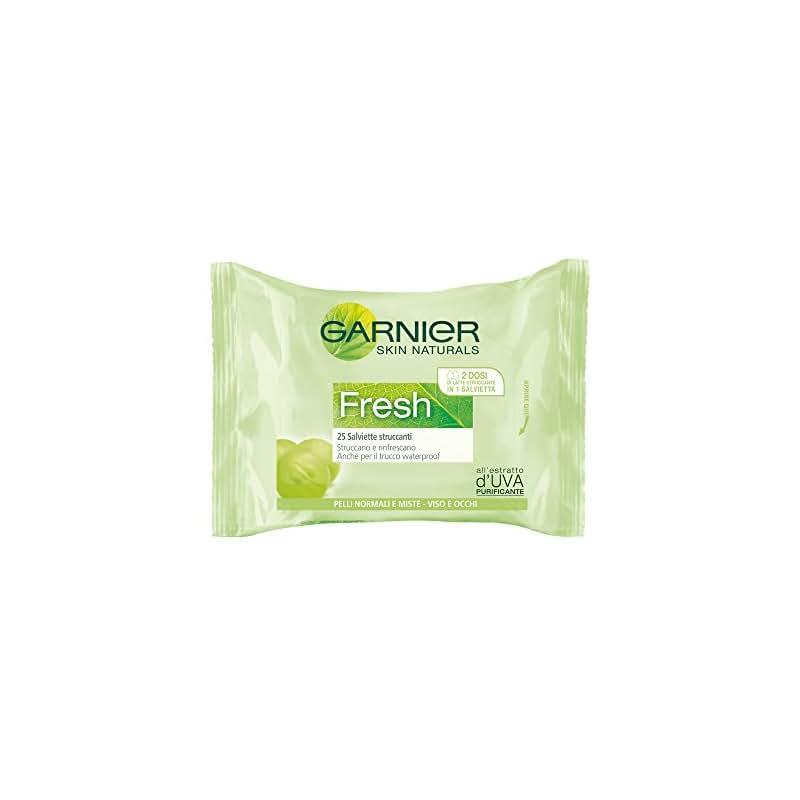 Garnier Fresh Salviette Struccanti per Pelli Normali o Miste