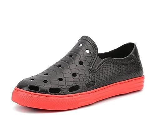 Axido Crocs Outdoor Round-toe Hommes Chaussures de sport Femmes Slip-ons