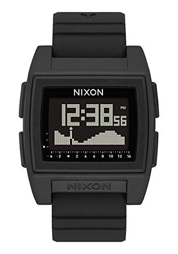 Nixon Hommes Digital Montre avec Bracelet en Silicone A1212-000-00