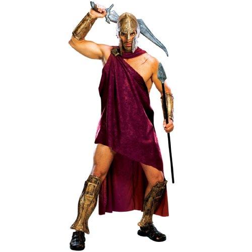 Spartaner Deluxe Herrenkostüm aus Frank Miller's 300, Größe:M/L