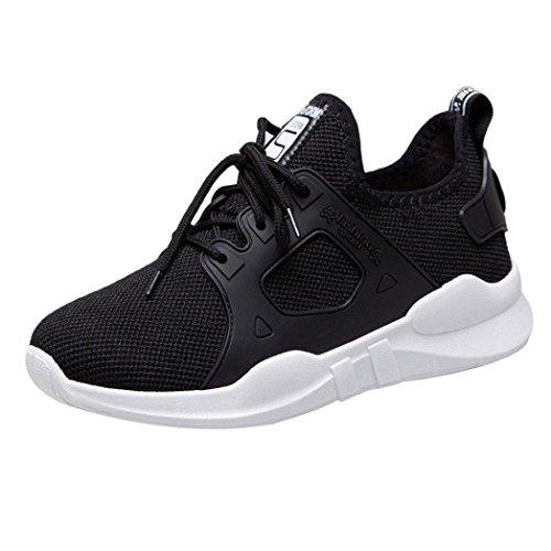 Baskets FantaisieZ Chaussures de Sport pour Femme Snakers Décontractées de Marche en Plein Air pour étudiantes Filles Chaussures de Course de Trrois Couleurs