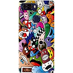 Mobilinnov Coque Archos Diamond Omega en Silicone avec Design Ca Cartoon - Coque Souple Archos Diamond Omega Anti-Choc - Protection Incassable