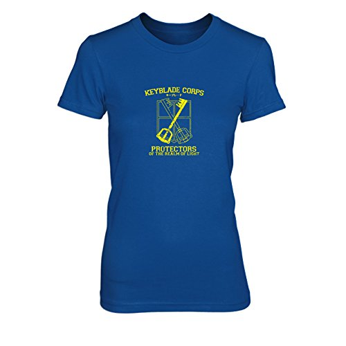 Keyblade Corps Protectors - Damen T-Shirt Blau