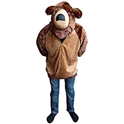 7074721d9601 F114 Giacca Orso BrunoTaglia M, Costume Costumi per Uomini Donne Adulti, per  il Carnevale