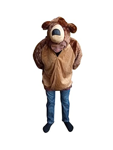 Kostüm, F114 Gr. L, Bären-Faschingskostüm, für Fasching Karneval Fasnacht, Karnevals-Kostüme für Männer und Frauen, Faschings-Kostüme, Fasnachts-Kostüme Tier-Kostüme, Geburtstags-Geschenk, Weihnachts-Geschenk (Weihnachts-kostüm Ideen Für Männer)