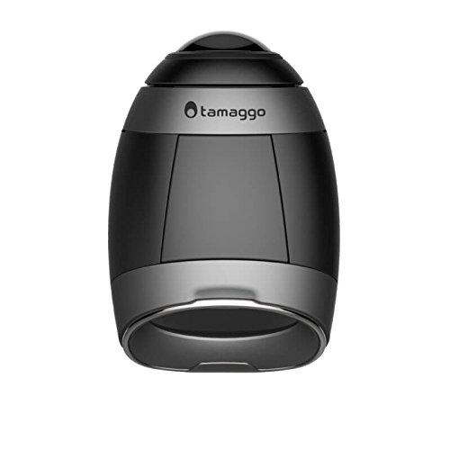 Tamaggo 360LiveCam - 360 Kamera mit Live-Stream - Foto und Video in 360 (Titanium) (Kamera Live-stream)