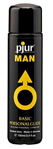 pjur MAN BASIC PERSONALGLIDE, Gleitgel Silikon, 1 x 30 ml