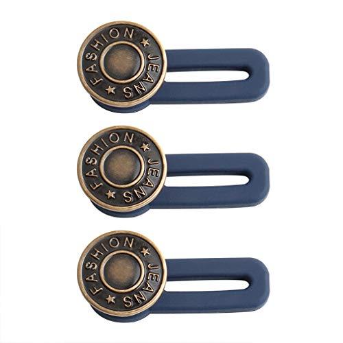 Dasongff Waistband Extenders Jeans einziehbarer Knopf Button Pant Extender - Adds 50